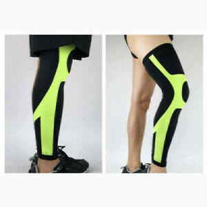 Green-Knee-Compression-Sleeve-Support-baseball-Running-Gym-Sports-Joint-Pain