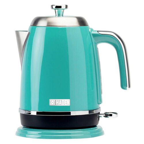 Haden Salcombe 191113 Deep Teal Kettle 360 Base 1.7 Litre Cordless Rapid Boil