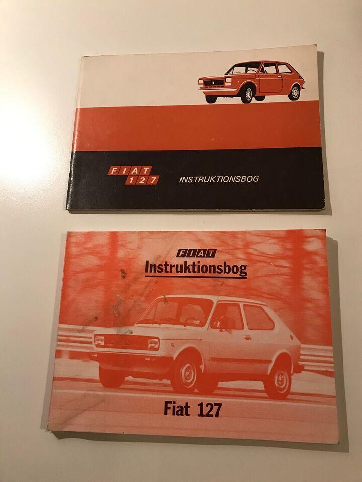 Instruktionsbog, Fiat 127