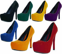 Sexy Platform High Heel Stilettos Pump Shoes Almond Toe Fashion Women Sandal