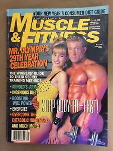 MUSCLE & FITNESS bodybuilding magazine/ Mr Olympia DORIAN