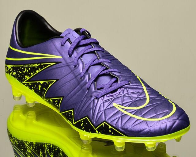 30d64c322fcf Nike Hypervenom Phatal II FG 2 men soccer cleats football NEW hyper grape  volt