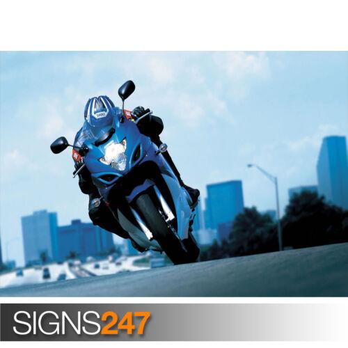 2008 SUZUKI GSX 650F ACTION Poster Print A1 A2 A3 A4 1616 Motorbike Poster