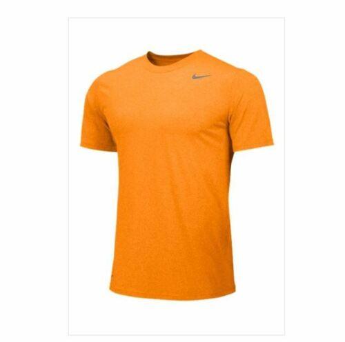 Nike Team Legend SS Short Sleeve Crew Training Shirt Men/'s M Orange 727982-873