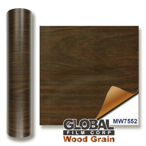 Walnut Wood MW7552 Wood Grain adhesives Vinyl Choose Your Size
