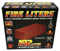 192 Pack Fireplace Lighter For Fireplace, Wood Burning Furnace, Grill, Fire Ring