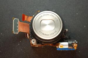 Canon-PowerShot-S100-Focus-Lens-Unit-5x-Optical-Zoom-CCD-Sensor-Silver