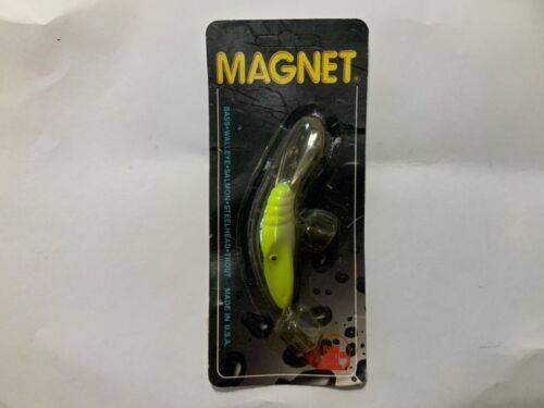 Details about  /Bass Hunter Lures Bass Magnet Chart//White 3//8oz Pre Norman