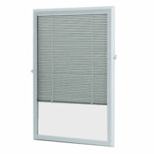 White Enclosed Window Blind (22 x 36)