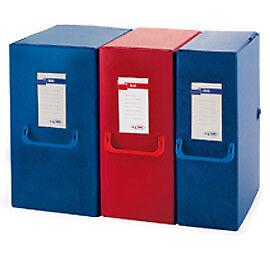 25626 Scatola archivio Big 120 250x350mm blu c//maniglia Sei Rota