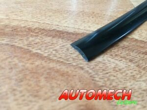 Super-Quality-Caravan-Motorhome-Awning-Rail-Plastic-Insert-Trim-BLACK