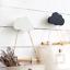 Nordic-Coniglio-in-Legno-Cloud-Ganci-Gancio-A-Parete-Adesivo-Supporto-Decorazione-Stanza-Bambini miniatura 9