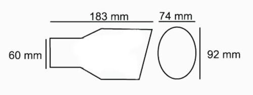 Exhaust Tip Pipe For Chevrolet Impala Aveo Orlando Astra Cruze Captiva Cobalt