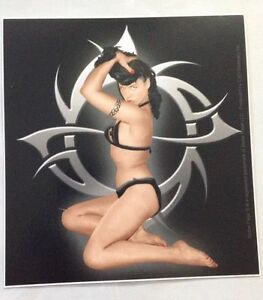 "Bettie Page Sticker Brand New 4.5/""x4/"""