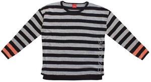Girls-Glitter-Cosmic-Love-Stripe-Knit-Jumper-Knitted-Sweater-10-to-16-Years