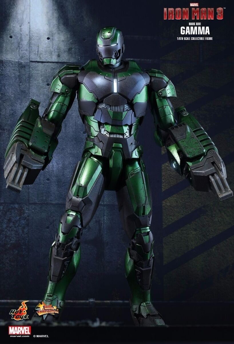 Movie Masterpiece IRON MAN MARK 26 XXVI GAMMA 1/6 Action Figure Hot Toys Japan
