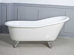 NEW-Slipper-cast-iron-claw-foot-bath-1560mm-EXCLUSIVE-BATH-SUPPLIERS-SINCE-1976