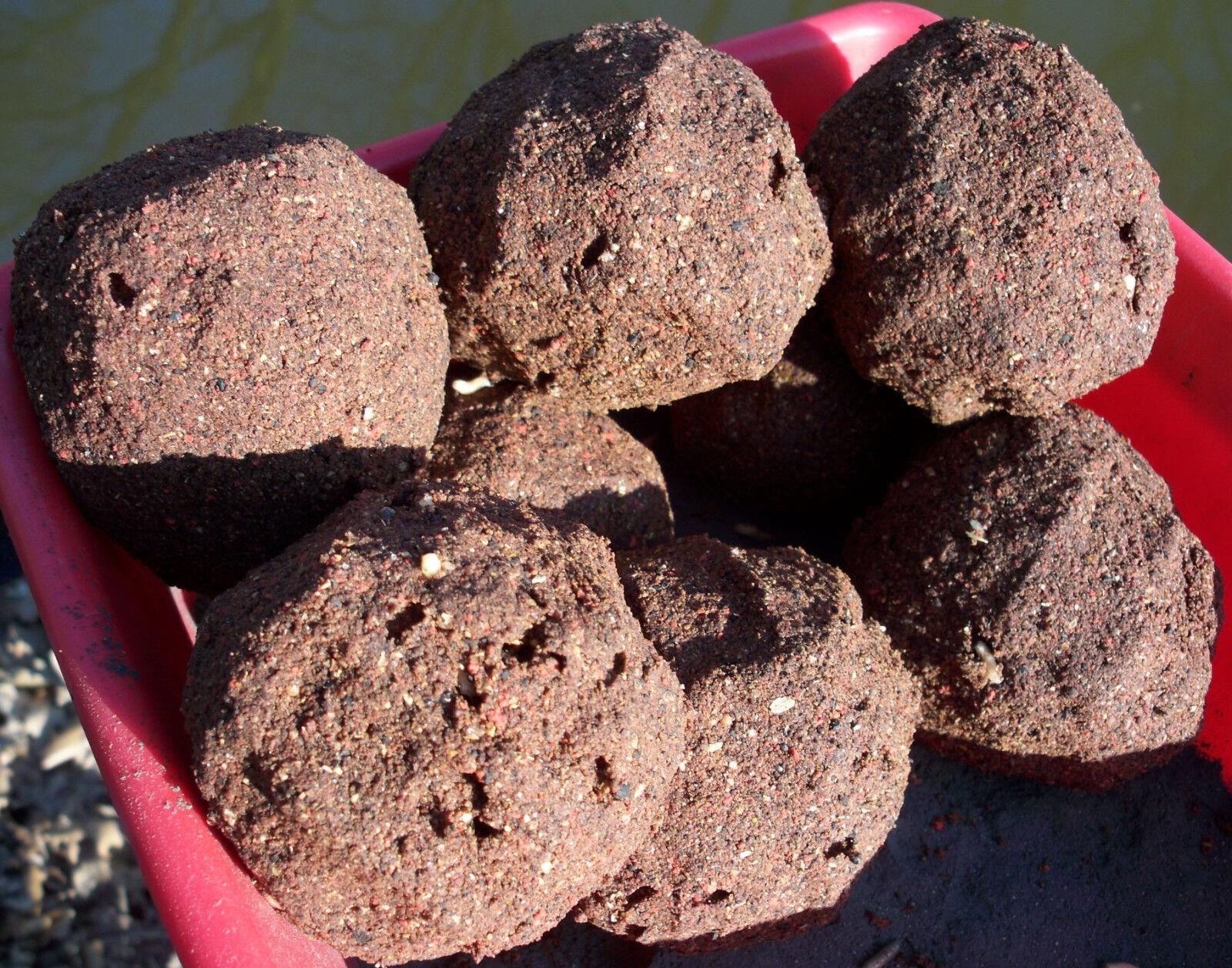 24 Kg Feeder Mix Angelfutter (1Kg 1,25EUR)Brassen,Güstern,Aland,Karpfen