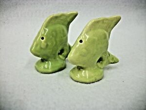 Vintage-Yellow-Angelfish-Salt-and-Pepper-Shakers