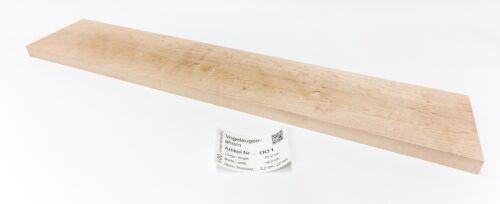 Tonewood Vogelaugenahorn Tonholz Guitar 75x 14x 2,2 cm Neck Halskantel Pen Blank