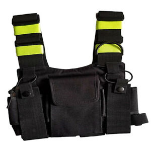 Fluorescent-Radio-Carry-Case-Chest-Pocket-Bag-Holster-for-Two-Way-Radio