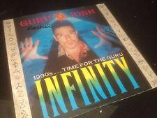 "GURU JOSH - INFINITY - 90S OLDSKOOL HOUSE RAVE CLASSIC 12"" VINYL RECORD DJ"