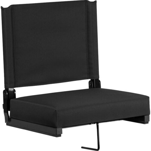 Flash Furniture Grandstand Comfort Seats by Flash with Ultra-Padded Seat in B...