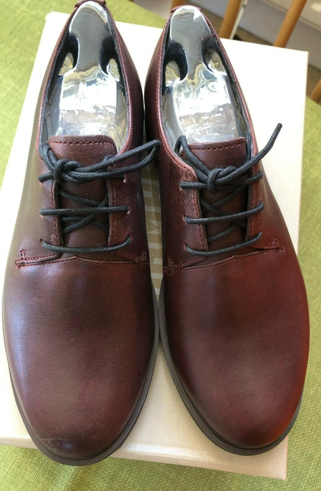 Camper brown shoes size 4/37 NEW WITH BOX