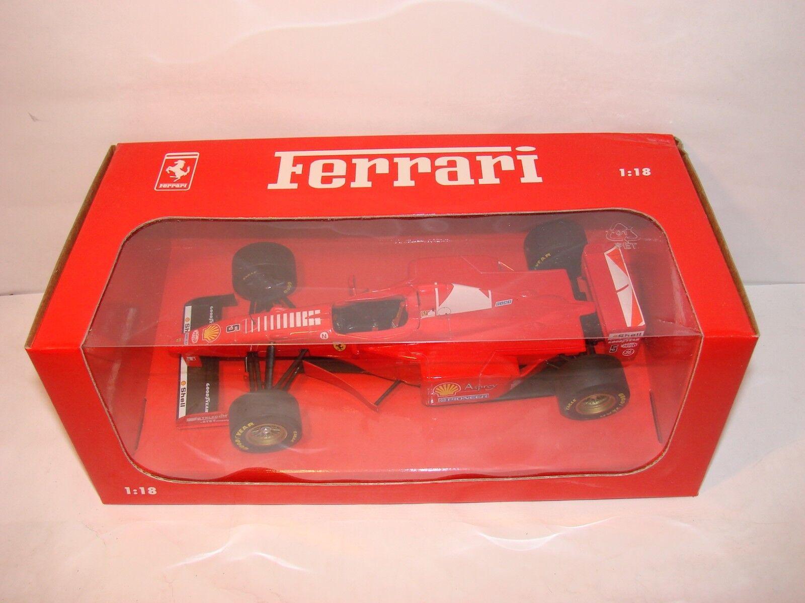 1 18 MINICHAMPS FERRARI f310b saison 1997 emballage spécial, Michael Schumacher