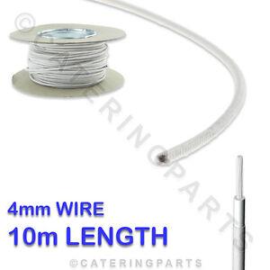 10m Rouleau de 4mm Résistant à la Chaleur Fibre Verre Fil Câble 10 Mètres X 4.0 aFzNH0AM-07135235-552117071