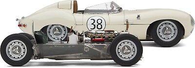Autos, Lkw & Busse Exoto Xs 1:18 Heute Nur Jim Clark's 1958 Jaguar D-typ & Rollen Fahrgestell