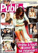PUBLIC N°515 24 MAI 2013  EVA LONGORIA/ SPECIAL CANNES/ JOLIE&PITT/ FREGET