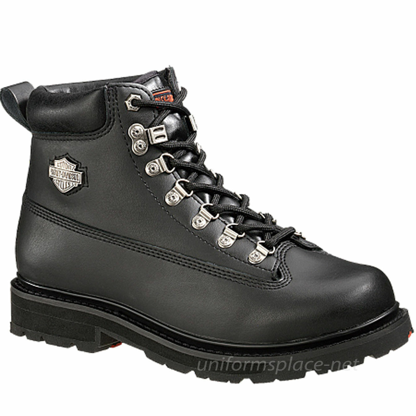 Harley Davidson Work, Riding Leather Boots Men Steel Toe Motorcycle DRIVE D91144