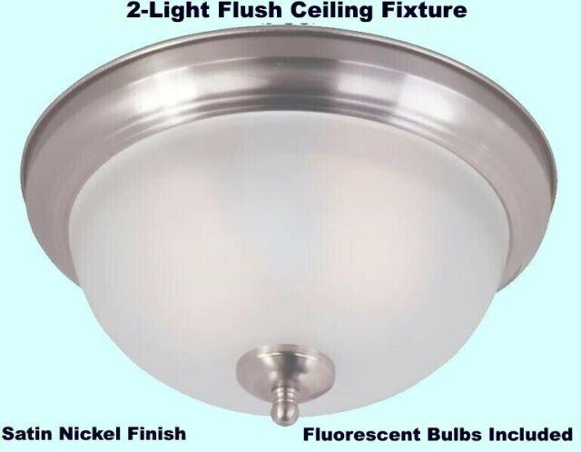 Portfolio Fluorescent Ceiling Fixture