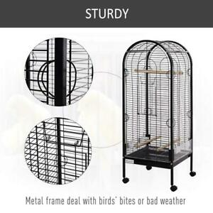 Metal Bird Parrot Cage with Rolling Standing Large Open Playtop 5ft w/perches and Bowls w/Wheels, Pull-Out Tray, Multi-D Toronto (GTA) Preview