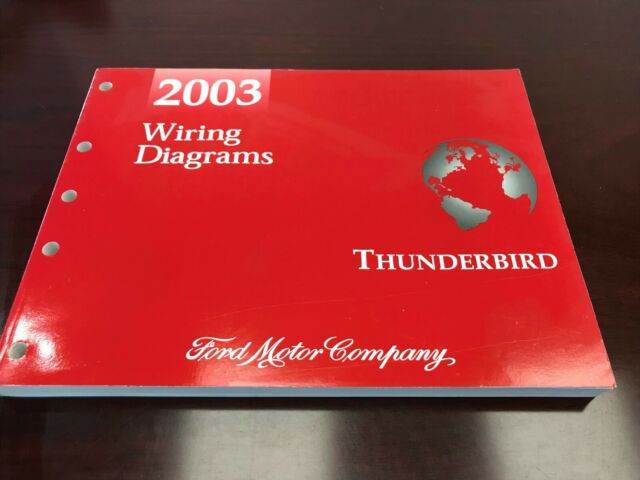 2003 Ford Thunderbird Diagram Manual