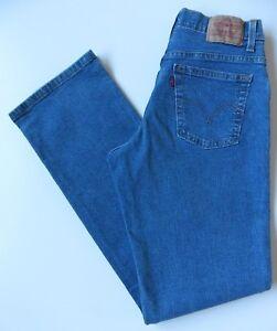 777ef13693c Women's Levis 550 Relaxed Bootcut Jeans Size 10L (36L) W28 L33 Blue ...