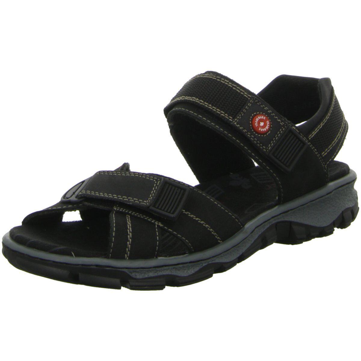 NEU Rieker Damen Sandaleetten Sandaleette Sandaleette Sandaleetten sportlicher Boden 68851-00 schwarz 2423c0