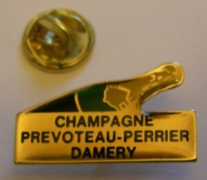 CHAMPAGNE-PREVOTEAU-PERRIER-DAMERY-French-Wine-vintage-pin-badge