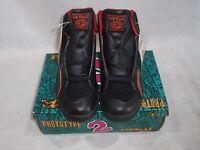 Vintage 1988 Airwalk Prototype 2 Size 5.5 Blk/red/orange Sk8 Bmx Shoes