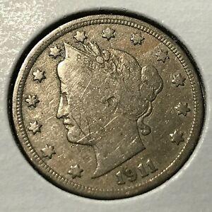 1911-LIBERTY-NICKEL-BETTER-DATE-NEAR-FULL-LIBERTY-COIN