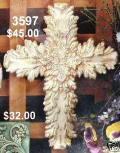 Ceramic Bisque Romance Cross CPI Mold 3597 U-Paint Ready To