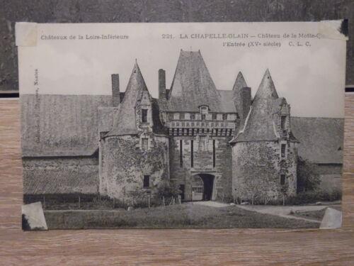 CPA - LA CHAPELLE GLAIN - Château de la Motte-Glain