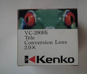 Kenko-VC-200Hi-2-0x-Video-Tele-Conversion-Lens-with-adapter-ring-49mm-52mm-55mm