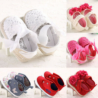 New Best Infant Toddler Sneakers Baby Girl Soft Sole Crib Shoes for 0-18 Months
