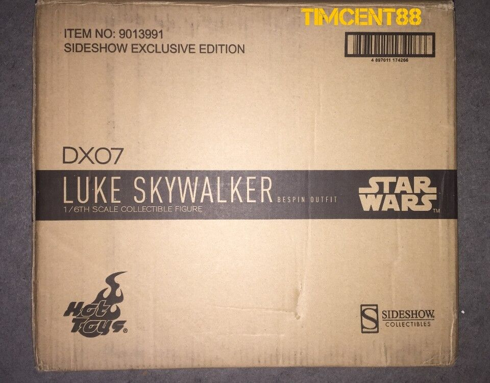 Hot Toys DX07 Star Wars Luke Skywalker Bespin Bespin Bespin Outfit Special Open New imperfect c3019a