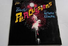 ARTHUR LYMAN THE COLOURFUL PERCUSSIONS OF ARTHUR LYMAN RARE VOGUE ALBUM 1962