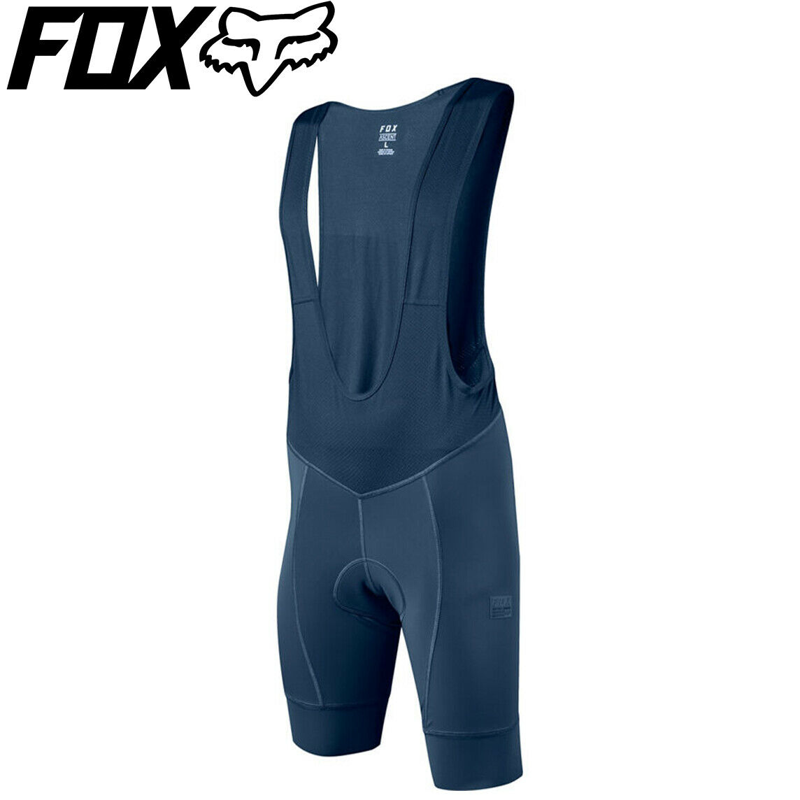 Fox Racing Ascent Bib Shorts 2018  Light Indigo blu  Dimensiones L, XL