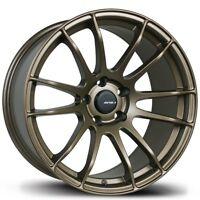 Avid1 AV20 18X8 Rim 5x114.3mm +35 Bronze Wheel Fits Civic Prelude Accord Rsx Tsx