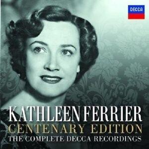 Kathleen-Ferrier-tutte-le-registrazioni-Decca-Centenary-Edition-14-CD-DVD-NUOVO